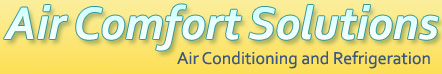 Air Comfort Solutions Air Conditioning and Refrigeration